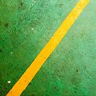 Diagonal Yellow Line by Mauricio Santana