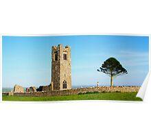 Ruins of Slane Abbey Poster