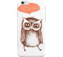 My Owl iPhone Case/Skin