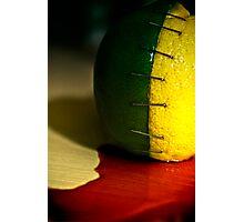 Lemon/Lime=LIMON Photographic Print