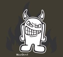 WeeDevil T-shirt by WeeMad