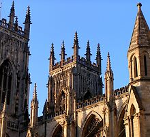 York's Minster detail  by patjila