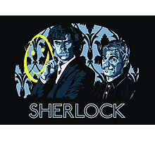 Sherlock - A Study in Blue Photographic Print