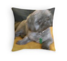 Who could harm a sweetie like this? Throw Pillow