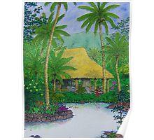 """Kahuwai Bay"" Poster"