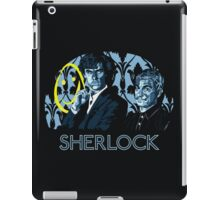 Sherlock - A Study in Blue iPad Case/Skin