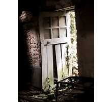 Inside Outside - Doorway of Yesterday! Photographic Print