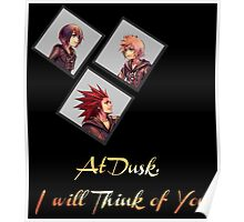 At Dusk, I will Think of You Poster