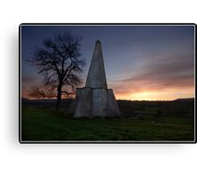 Folly at West Burton (Yorkshire Dales) Canvas Print