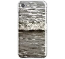 A tiny baby wave at the beach   iPhone Case/Skin