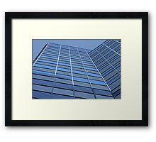 Upward Lines Framed Print