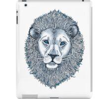 Blue Eyed Lion iPad Case/Skin