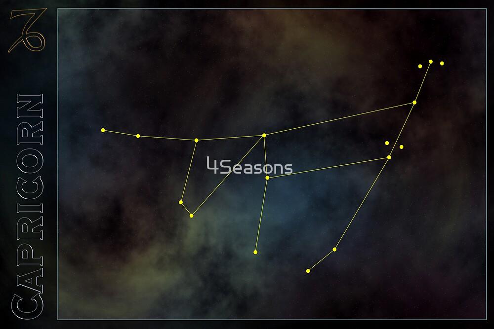 Capricorn zodiac by 4Seasons
