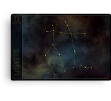 Gemini zodiac Canvas Print