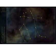Gemini zodiac Photographic Print