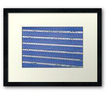 Blue Windows Framed Print