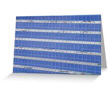 Blue Windows Greeting Card