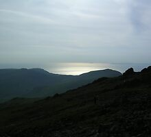 Barmouth, from Cadair Idris by 'ö-Dzin Tridral