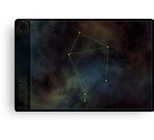 Libra zodiac Canvas Print