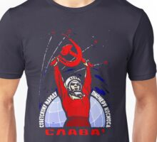 Glory to the Soviet People - Pioneers of Space Unisex T-Shirt