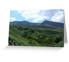 Foxes Path. Cadair Idris Greeting Card