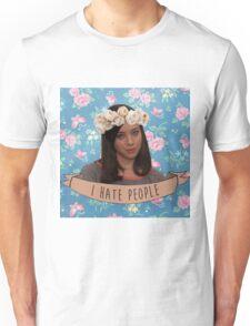 I Hate People - April Ludgate Unisex T-Shirt