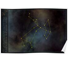 Sagittarius zodiac Poster
