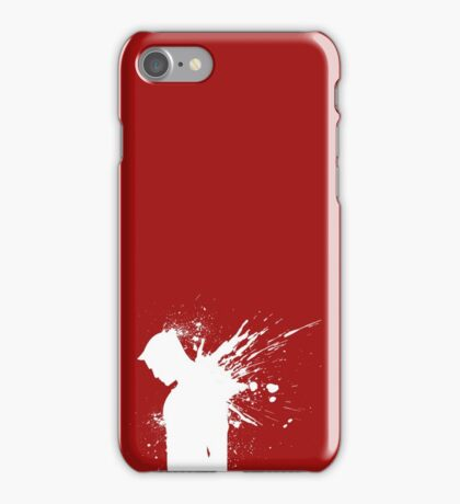 Devil in a Snowstorm iPhone Case/Skin
