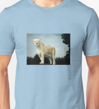 White Lion at West Midlands Safari Park Unisex T-Shirt