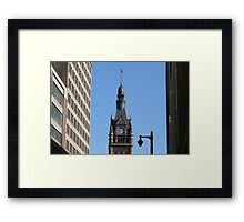 Tower of Time Framed Print