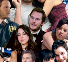 April and Andy - Parks and Recreation Sticker