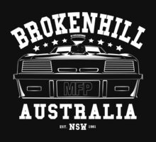 Mad Max Inspired Broken Hill 1981 Shirt by GTOclothing