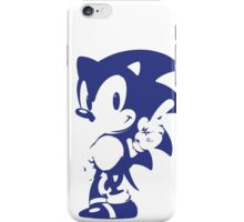 Minimalist Sonic 9 iPhone Case/Skin