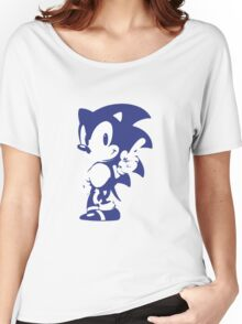 Minimalist Sonic 9 Women's Relaxed Fit T-Shirt