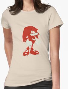 Minimalist Knuckles Womens Fitted T-Shirt