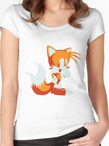 Minimalist Tails Women's Fitted Scoop T-Shirt