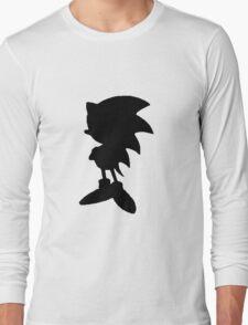 Classic Sonic Silhouette 2 Long Sleeve T-Shirt