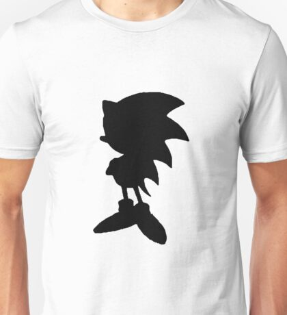 Classic Sonic Silhouette 2 Unisex T-Shirt