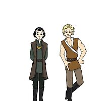 Loki and Thor: Growing up Together by smirkyt