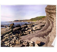 Aber Seascape Poster