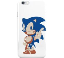 Minimalist Sonic 4 iPhone Case/Skin