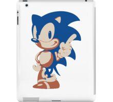 Minimalist Sonic 4 iPad Case/Skin