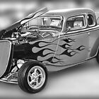 Ford Classic in Black & White by Dyle Warren