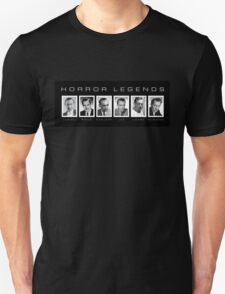 Horror Screen Legends T-Shirt