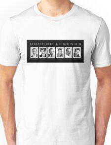 Horror Screen Legends Unisex T-Shirt