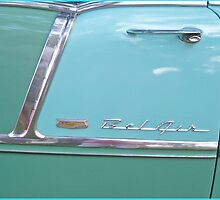 Details of a Chevrolet Bel Air 1955 by Paola Svensson