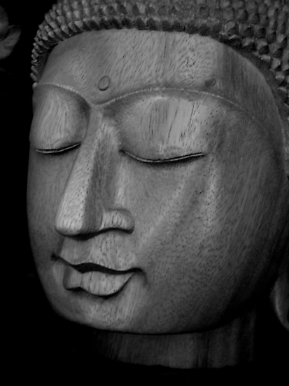 Serene Buddha by patjila