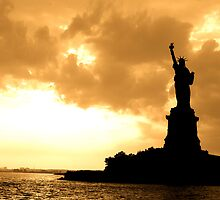 Statue of Liberty by Jennifer Muller