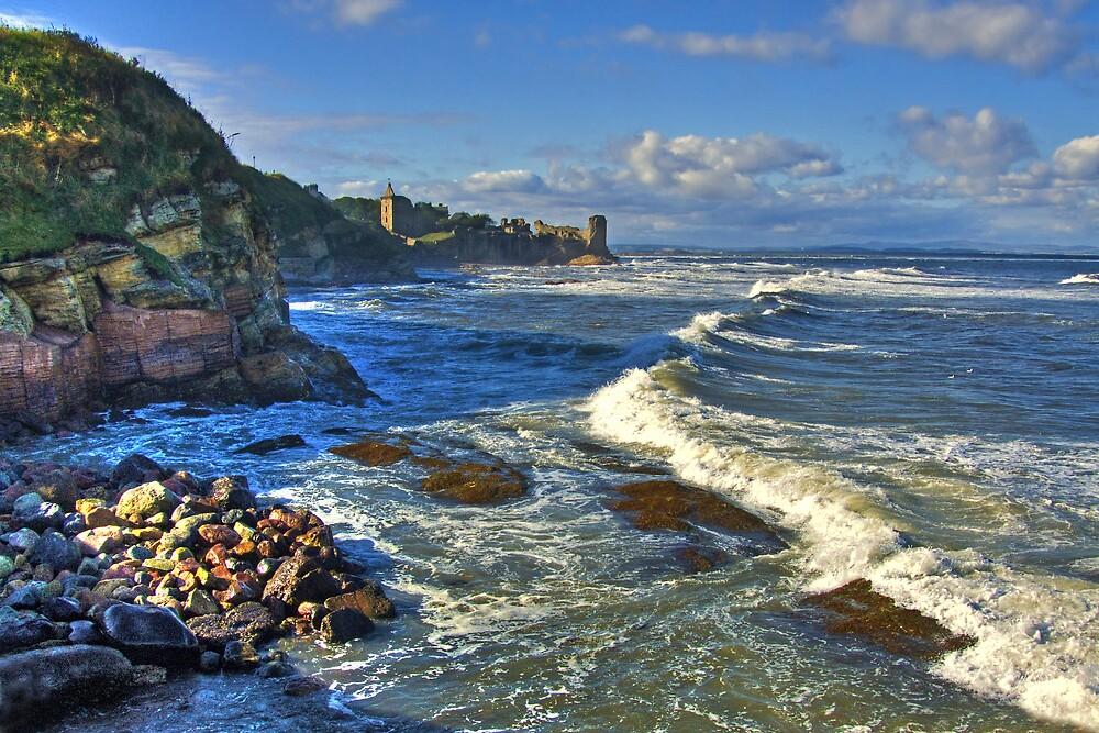 St Andrews coastline by Panalot