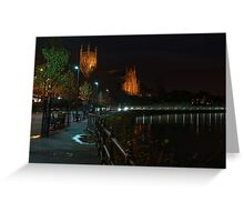 Cleve Walk, Worcester Greeting Card